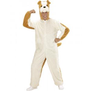 Costume Carnevale Cane Bulldog travestimento in Peluche 24928 pelusciamo store