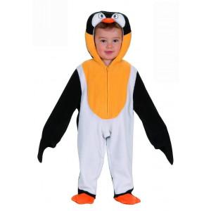 Costume Carnevale Pinguino Bimbo, Animale penguin *05557 Primi Mesi  pelusciamo store