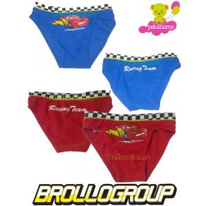 Costume da Bagno bambino Disney Slip Bimbo Cars Saetta Mc Queen *11599 pelusciamo store