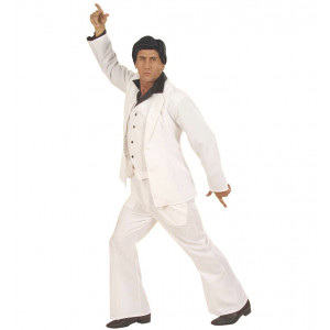 Costume Carnevale Adulto Disco Anni 70,Vestito Manero | Pelusciamo store