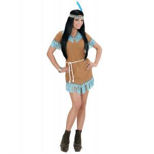 costume carnevale donna indiana