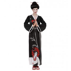 Costume Carnevale Donna, Geisha Giapponese PS 24840 Abito Kimono