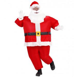 Costume Adulto Autogonfiante, Babbo Natale Gonfiabile  | pelusciamo.com