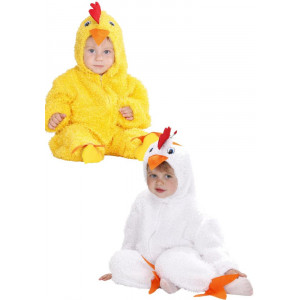 Costume Carnevale Bimbo, Animale Pulcino Primi Mesi | Pelusciamo.com