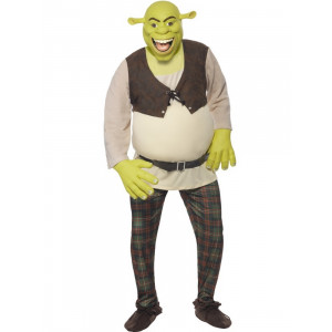 Costume Carnevale Adulto Shrek  *12424 Orco Cartoni Animati | Pelusciamo.com