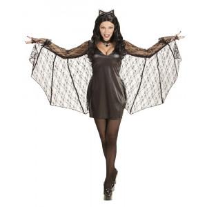 Costume Carnevale Donna Batwoman PS 25586 Travestimento Halloween Pelusciamo Store Marchirolo
