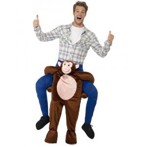 Costume Carnevale Scimmia Carry Me Taglia Unica Adulto PS 26590 Pelusciamo Store Marchirolo