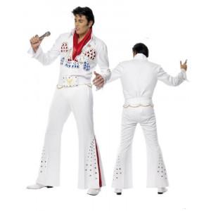 Costume Carnevale Elvis Presley  American Eagle travestimento costumi