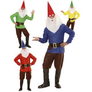 Costume Carnevale Uomo Gnomo Nani Del Bosco PS 26528 Pelusciamo Store Marchirolo