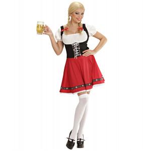 Costume Donna Tirolese Bavarese Festa Birra Oktoberfest PS 08661 Carnevale  Pelusciamo Store Marchirolo