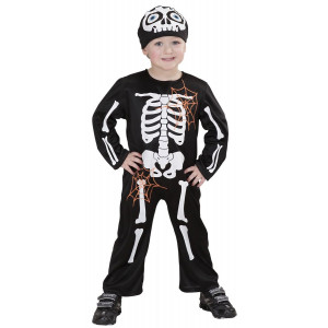 Costume Scheletro Halloween Da Bambino Travestimento Ossa PS 25606 Pelusciamo Store Marchirolo