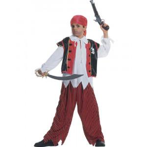 Costume Carnevale Bimbo Ragazzo Pirata dell'Isola PS 20025