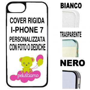 Cover Iphone 7 Plastica Personalizzabile Con Foto o Dediche PS 11089 Pelusciamo Store Marchirolo
