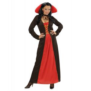 Costume Halloween Donna, Vestito Vampira | pelusciamo.com