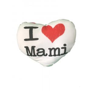 Cuscino Cuore Festa Della Mamma I Love Mami | pelusciamo store