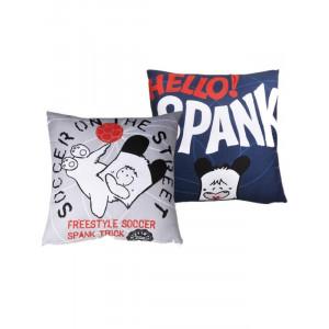 Cuscino Hello Spank azzurro grigio cane cartoni animati *02719