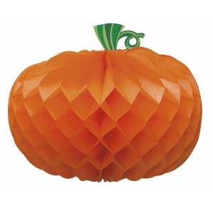 Decorazione casa Halloween centrotavola zucca di carta *01067 | pelusciamo store