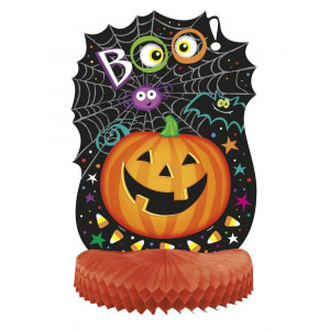 Decorazione casa Halloween centro tavola zucca sorridente *01063 | pelusciamo store