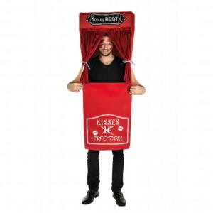 Costume Carnevale Cabina Dei Baci Kissing Booth PS 09332 Pelusciamo Store Marchirolo