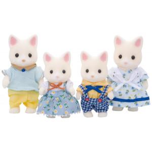 Famiglia Gatti Silk Sylvanian Families  * 03076 Personaggi Orsetti    pelusciamo store