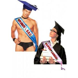 fascia gadget festa laurea e diploma