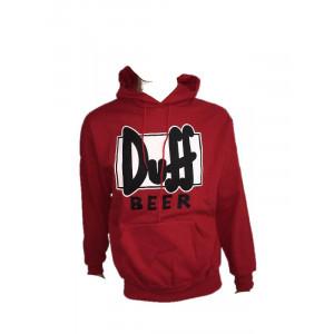 Felpa con cappuccio adulto Duff Beer The Simpsons *15436