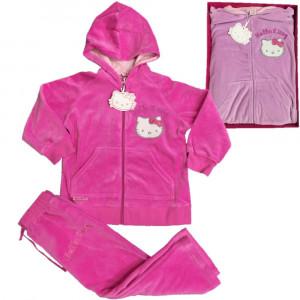 Tuta Invernale Hello Kitty, Felpa con Cappuccio e Pantaloni | pelusciamo.com