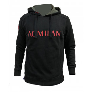 Felpa Milan Con Cappuccio Adulto | Pelusciamo.com