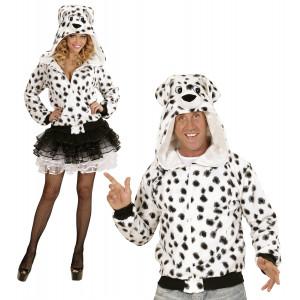Felpa Uomo e Donna Dalmata , Serie Carnevale Animale |  pelusciamo store