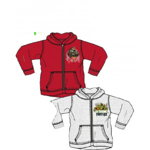 Tuta felpata bambino con zip Tartarughe Ninja Abbigliamento Bimbo | pelusciamo.com