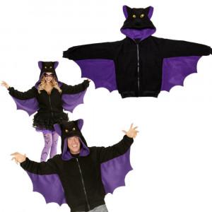 Felpa Uomo e Donna da Pipistrello , Serie Carnevale Animale *24574 |  pelusciamo store
