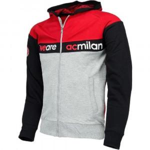 Felpa Con Cappuccio Milan Calcio Abbigliamento Bambini PS 26659 pelusciamo store Marchirolo