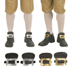 Fibbie per Scarpe - Accessori Costume carnevale Pirata, Corsaro | pelusciamo.com