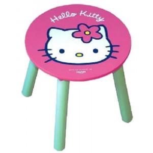 Accessori casa Sgabello in legno laccato Hello Kitty Sanrio 30x30 cm. 04132