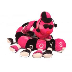 Peluche millepiedi Forza Boys rosanero 65 cm. 03512