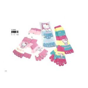 Set guanti + Calze Fiocco Hello Kitty - 4/14 anni