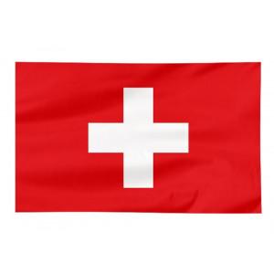 Bandiera Nazionale Svizzera Suisse 100x140 Cm Rossocrociata PS 09358 Pelusciamo Store Marchirolo