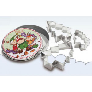 Confezione Metallo Formine Folletti
