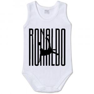Body Smanicato Cristiano Ronaldo juventus , Abbigliamento Personalizzabile Neonato PS 13735 Ronaldo7 pelusciamo Store Marchirolo