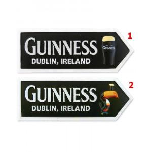 Magnete da frigo Guinness beer freccia tucano o pinta  *09178 gadget birra pelusciamo