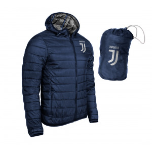 Giacca Uomo Ultralight Fc Juventus Blu Personalizzabile  | Peluscaimo.com