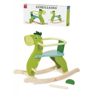 Giochi In Legno Per Bambini Dondolo Dondosauro PS 08199 Gioco Per Bambini Pelusciamo Store Marchirolo