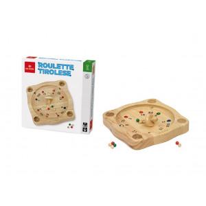 Giochi In Legno Roulette Tirolese PS 07864 Gioco Per Bambini Pelusciamo Store Marchirolo