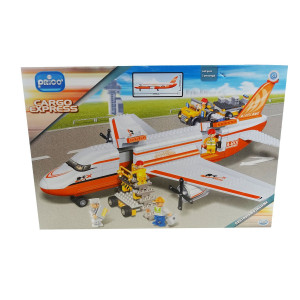 Cargo express costruzioni Prico' 660 pezzi 5 personaggi *02424