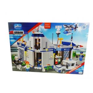Stazione di polizia costruzioni Prico' 718 pezzi safety operators  *02423 pelusciamo store