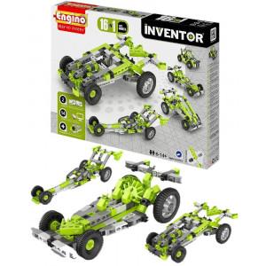 Engino Inventor cars models 16 in uno inventor gioco di costruzioni 03783 pelusciamo store
