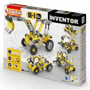 Engino Inventor mezzi di lavoro 16 in uno gioco di costruzioni *02488 pelusciamo store