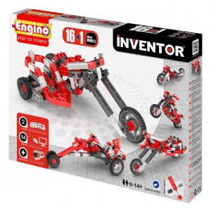 Engino Inventor motor bikes 16 in uno gioco di costruzioni *02489 pelusciamo store