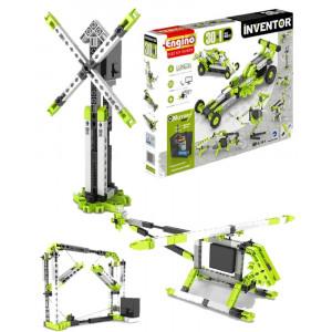 Engino Inventor 30 in 1 modelli motorizzati gioco di costruzioni 03772 pelusciamo store