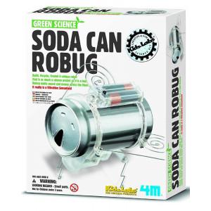 Gioco Insetto Robot creato Con Una Lattina Giochi Creativi PS 06099
